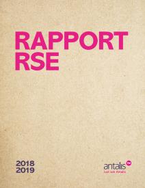 Rapport Responsabilité Sociale et Environnementale 2018 ANTALIS