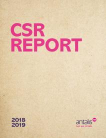 2018-2019 CSR Antalis CSR report