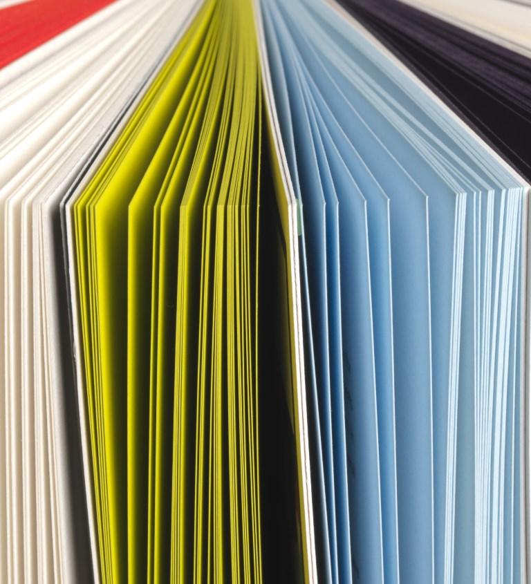 Papiers colorés